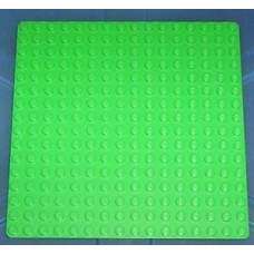 3867 LEGO Base Plates Bright Green 16 x 32 Studs Part 3857 /& 2 16 x 16 Studs