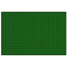 3334 Bright Green Baseplate 16 x 24