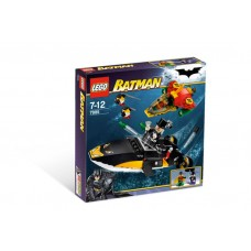 7885 BATMAN I Robins Scuba Jet- Attack of The Penguin