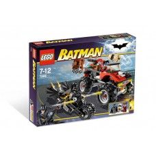 7886 BATMAN I The Batcycle- Harley Quinns Hammer Truck