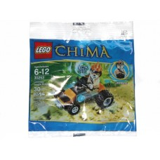 30253 CHIMA Leonidas' Jungle Dragster polybag