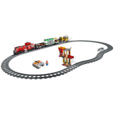 3677 CITY Red Cargo Train