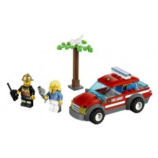 60001 CITY Fire Chief Car