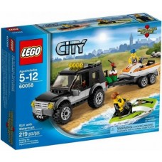60058 CITY SUV with Watercraft