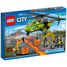 60123 CITY Volcano Supply Helicopter