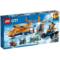 60196 CITY Arctic Supply Plane