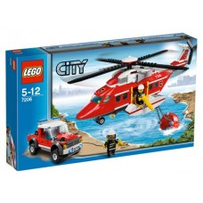 7206 CITY Fire Helicopter