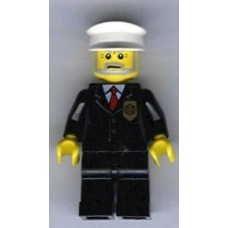 cty012 Police - City Suit with Red Tie and Badge