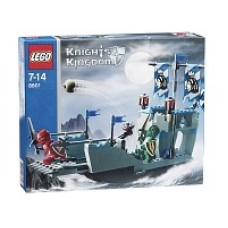 8801 KNIGHTS KINGDOM Knights Attack Barge