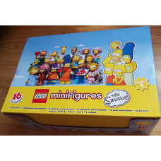 (Original Empty Box) for 71009 THE SIMPSONS Minifigure Series 2