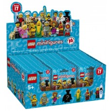 71018 COLLECTIBLE MINIFIGURES Series 17 (Box of 60)