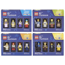 Bricktober 2016 Complete Set of 4 Minifigure Collection (TRU Exclusive)
