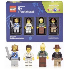 5004422 Minifigure Collection, Warriors (TRU Exclusive)