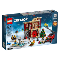 10263 CREATOR Winter Village Fire Station