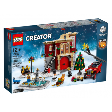 10263 HOLIDAYS Winter Village Fire Station