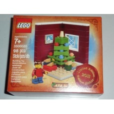 3300020 HOLIDAYS Christmas Tree Scene (Limited Edition 2011 Holiday Set (1 of 2))
