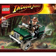 20004 INDIANA JONES Jungle Cruiser polybag