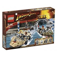 7197 INDIANA JONES Venice Canal Chase