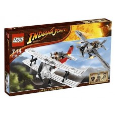 7198 INDIANA JONES Fighter Plane Attack