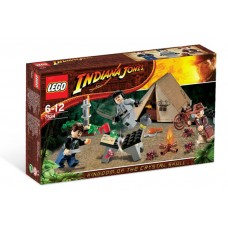 7624 INDIANA JONES Jungle Duel