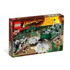 7626 INDIANA JONES Jungle Cutter