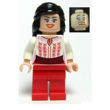 iaj036 Marion Ravenwood - Red and White Cairo Outfit (7195)