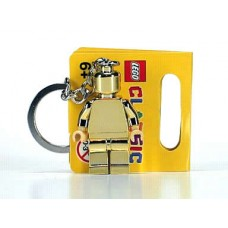 852688 Golden Minifig Key Chain (Chrome Gold)