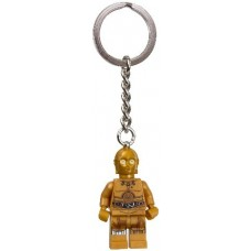 853471 C-3PO Key Chain - Detailed Torso and Legs Pattern