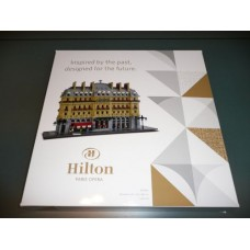 LEGO HOTEL HILTON OPERA PARIS Limited Luxury set. 2503 Pieces. Only 500 Produced. Created by Dirk Denoyelle, LEGO certified professional creator