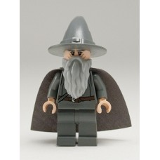 lor001 Gandalf the Grey - Wizard-Witch Hat