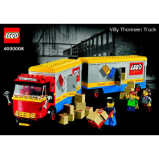 4000008 LEGO Inside Tour (LIT) Exclusive 2013 Edition – Villy Thomsen Truck