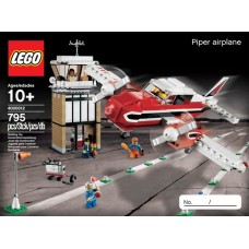 4000012 LEGO Inside Tour (LIT) Exclusive 2012 Edition - Piper airplane