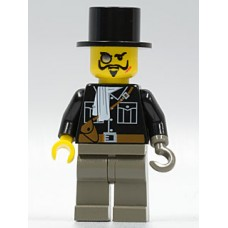 adv025 Lord Sam Sinister with Black Top Hat