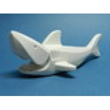 Part 14518c01 White Shark with Gills (Complete Assembly)