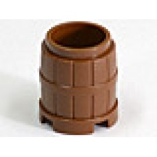 Part 2489 Brown Container, Barrel 2 x 2 x 2
