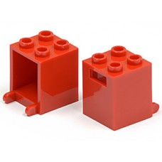 Part 4345 Red Container, Box 2 x 2 x 2