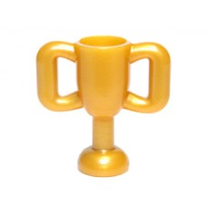 Part 10172 Pearl Gold Minifig, Utensil Trophy Cup Small