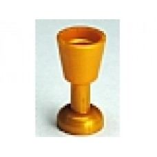 Part 2343 Pearl Gold Minifig, Utensil Goblet