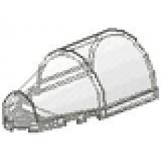 Part 30384 Trans-Clear Windscreen 7 x 4 x 2 Round