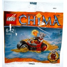 30265 CHIMA Worriz' Fire Bike polybag