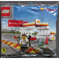 40195 RACER Shell Station polybag