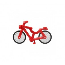 Part 4719c01 Red Bicycle, Complete Assembly (1-Piece Wheels)