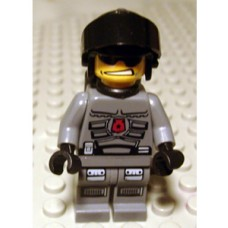 sp095 Space Police 3 Officer 2 - Airtanks (5970)