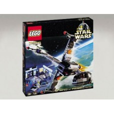 7180 STAR WARS B-wing at Rebel Control Center