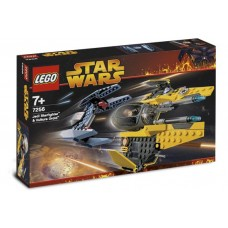 7256 STAR WARS Jedi Starfighter and Vulture Droid