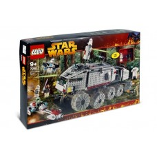 7261 STAR WARS Clone Turbo Tank (with Light-Up Mace Windu, Trans-Light Blue Lightsaber Blade)