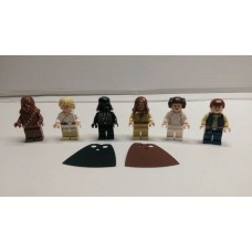 STAR WARS 7965 Complete 6 New Minifigures