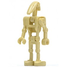 sw001c Battle Droid with 1 Straight Arm