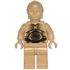 sw010 C-3PO - Pearl Light Gold