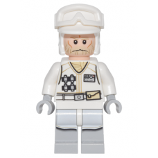 sw765 Hoth Rebel Trooper White Uniform 3, No Backpack (75146)